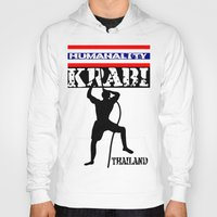 thailand Hoodies featuring Rock Climbing Thailand by mailboxdisco