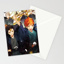 Haikyuu Karasuno Stationery Cards
