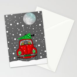 Santa Lane Stationery Cards