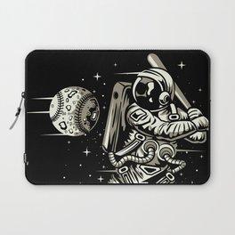 Space Baseball Astronaut Laptop Sleeve