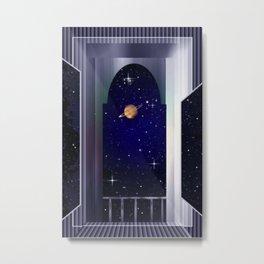 "House on ""Titan"" !  Metal Print"