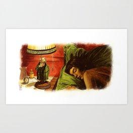 Le Fabuleux Destin d'Amelie Poulain Art Print