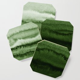 WITHIN THE TIDES FOREST GREEN by Monika Strigel Coaster