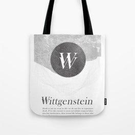 Wittgenstein Tote Bag
