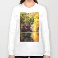 serenity Long Sleeve T-shirts featuring Serenity by Captive Images Photography
