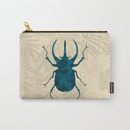 Original Camouflage Pattern Scarab Beetle Carry-All Pouch