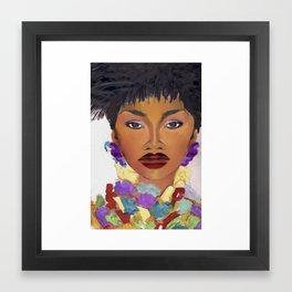 Naomi Cambell - Vogue Framed Art Print