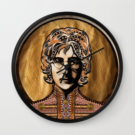 Boho Beatle (John) Wall Clock