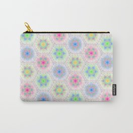 Whipped Cream in Sherbert Colors Carry-All Pouch