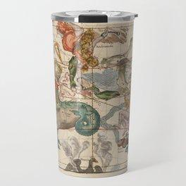 Ignace-Gaston Pardies - Globi coelestis Plate 2: Cetus, Aquarius, Andromeda 1693 Travel Mug