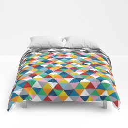 Triangles with Topper Comforters