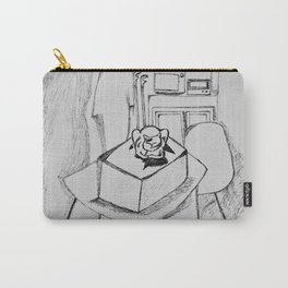 Grandma's lonely cat Carry-All Pouch