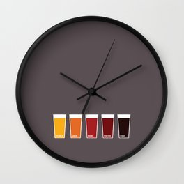 Pints Wall Clock