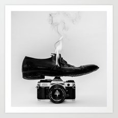 Hot Shoe Art Print
