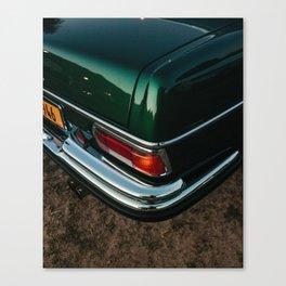 Car Corner Canvas Print