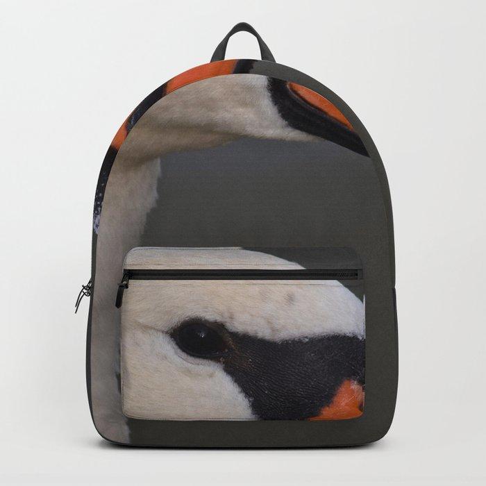 Mute Swan in Summer Backpack