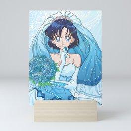 Ami Wedding Dress Mini Art Print