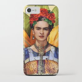 FRIDA KAHLO MARIPOSA iPhone Case