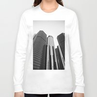 renaissance Long Sleeve T-shirts featuring Renaissance Center by Starr Cuevas Photography