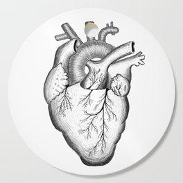 Anatomical Heart Cutting Board