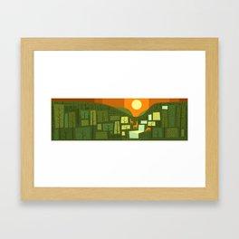 Solstice Framed Art Print