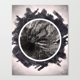 Uprooted and Lost Canvas Print