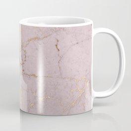 Chic mauve pink gold elegant stylish marble Coffee Mug