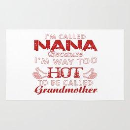 I'M CALLED NANA Rug