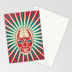 The Mysterious Mask Stationery Cards