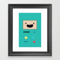 Pixel BMO Framed Art Print