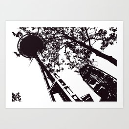 Oooo, Seattle... Art Print