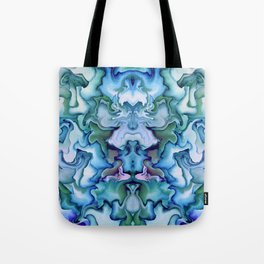 Abstract graphic mirror 3 Tote Bag
