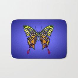 Butterfly-knot Bath Mat