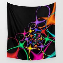 fractal geometry -126- Wall Tapestry