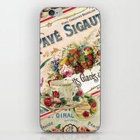 french iPhone & iPod Skins featuring French by Joke Vermeer