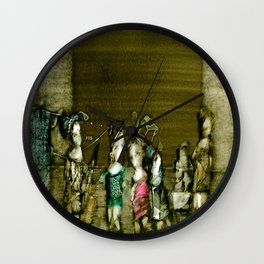 Figurative Surrealism Fantasy Wall Clock