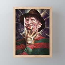 Nasty Freddy Framed Mini Art Print