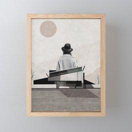 Over the hills and far away ... Framed Mini Art Print