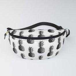 Pineapple Pattern - Black #525 Fanny Pack