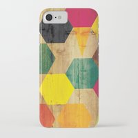 bebop iPhone & iPod Cases featuring Wood Prints by Simi Design