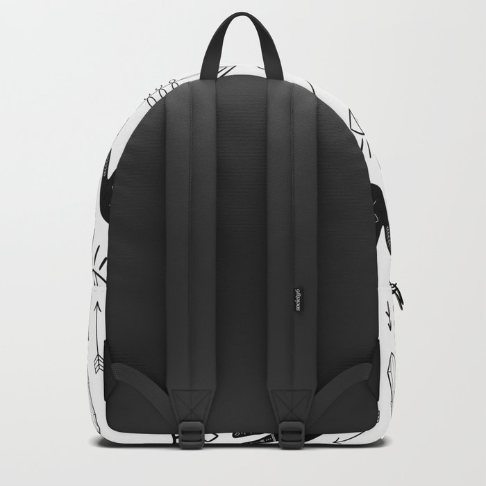 Witchy Patterns Backpack