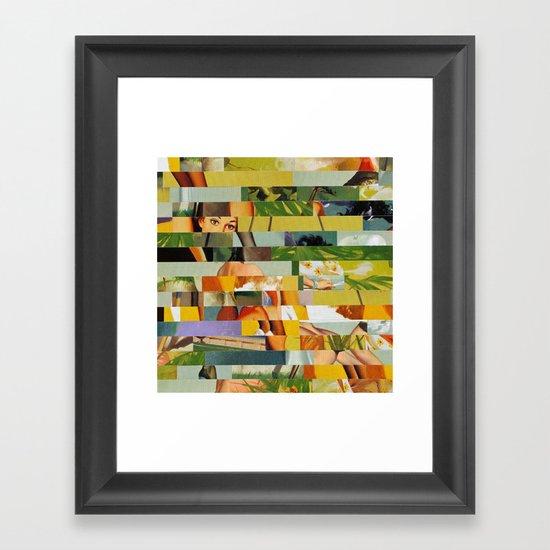 Don't Entirely Trust the Gardener (Provenance Series) Framed Art Print
