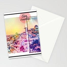 Santorini Love Story Stationery Cards