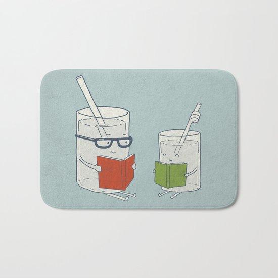 Reading Glasses Bath Mat