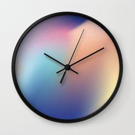 Gradient flow Wall Clock