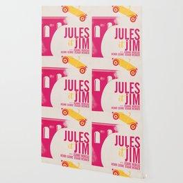 Jules et Jim, François Truffaut, minimal movie Poster, Jeanne Moreau, french film, nouvelle vague Wallpaper