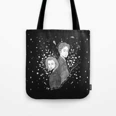 The Truth is Out There - Mulder and Scully Tote Bag