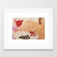 oil Framed Art Prints featuring oil by Gayana Manukova