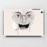 american psycho iPad Cases featuring Psycho by Davies Babies