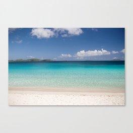 Trunk Bay Beach Canvas Print